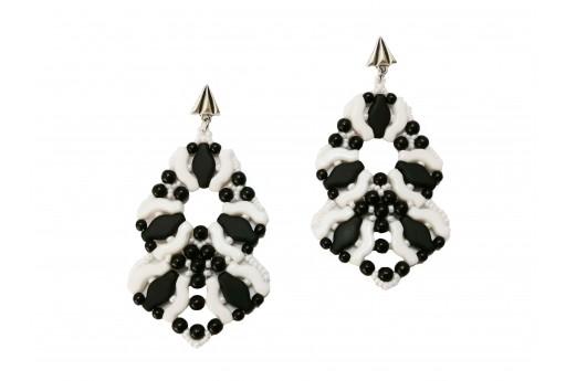 DIY Kit Maya Earrings by Nicoletta Barbera