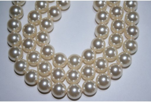 Perle Swarovski Cream 5810 10mm - 4pz