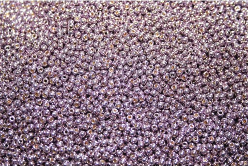 Toho Seed Beads Permanent Finish Galvanized Pale Lilac 11/0 - 10g