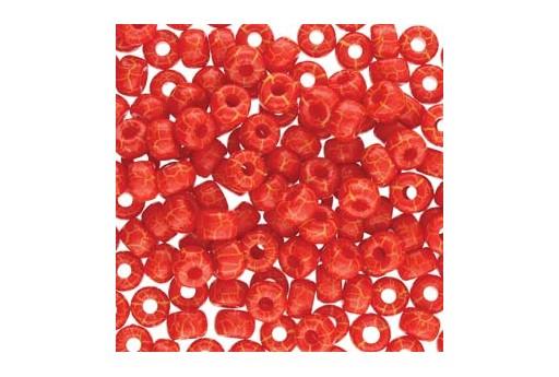 Matubo Beads Ionic Red Yellow 2/0 - 10g