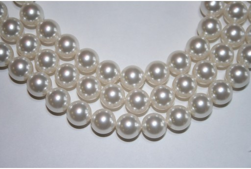 Swarovski Pearls White 5810 10mm - 4pcs