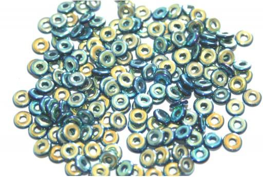 Perline O - Beads - Jet Full AB 1x3,8mm - 5gr