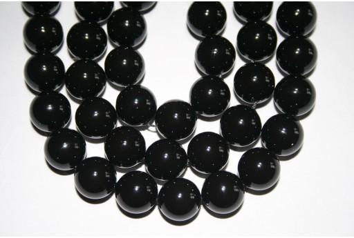 Perle Swarovski 5810 Crystal Mystic Black 12mm - 2pz