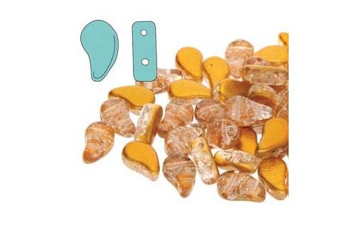 Perline Paisley Duo Slushy - Orange 8x5mm - 10gr