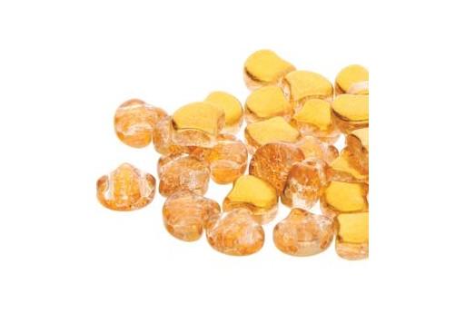 Perline Ginko Slushy - Orange 7,5x7,5mm - 10g