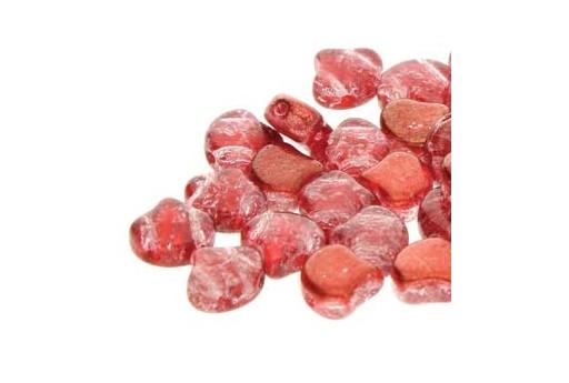 Perline Ginko Slushy - Strawberry 7,5x7,5mm - 10g