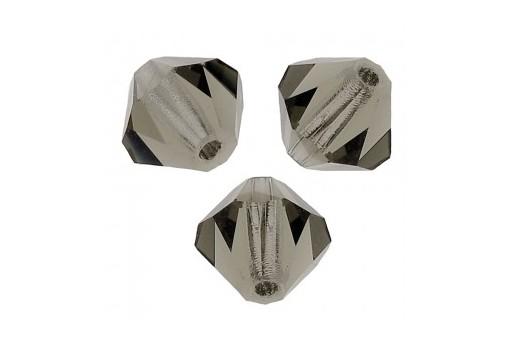Biconi Preciosa - MC Bead Rondelle - Black Diamond 3mm - 30pz