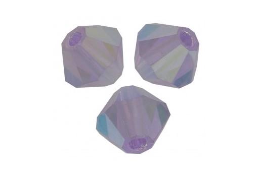Biconi Preciosa - MC Bead Rondelle - Violet AB 2X 4mm - 30pz