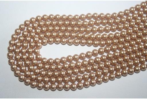 Swarovski Pearls Vintage Gold 5810 4mm - 20pcs