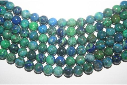 Chrysocolla Beads Sphere 8mm - 48pz
