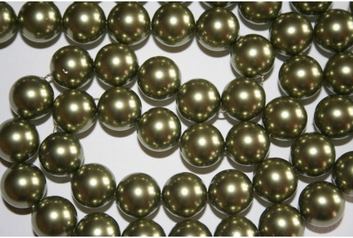 Swarovski Pearls 5810 Crystal Light Green 12mm - 2pcs