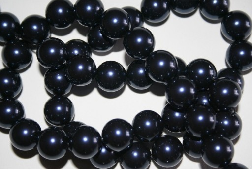 Swarovski Pearls 5810 Crystal Night Blue 12mm - 2pcs