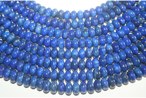 Lapis Lazuli Beads Rondelle 5x8mm - 5pz