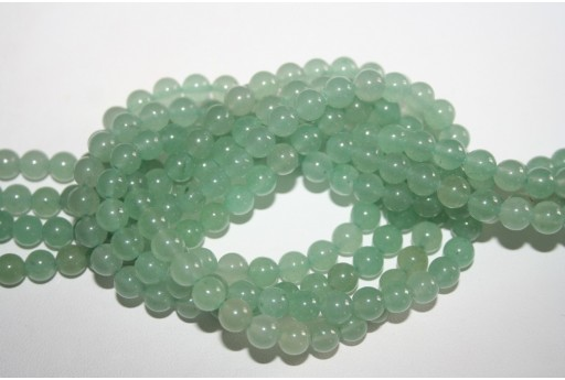 Aventurine Beads Green Sphere 6mm - 62pz