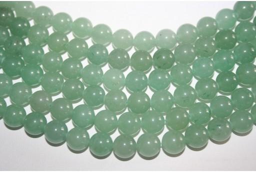 Aventurine Beads Green Sphere 10mm - 38pz