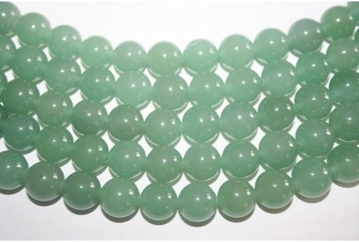 Filo Pietre Aventurine Verde Sfera 12mm - 32pz