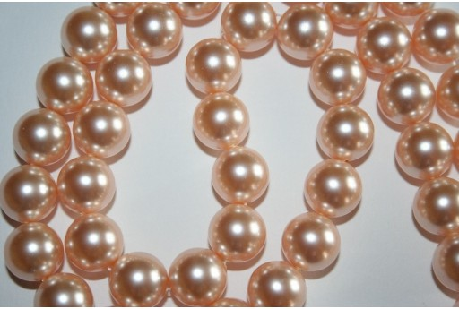 Swarovski Pearls 5810 Crystal Peach 12mm - 2pcs