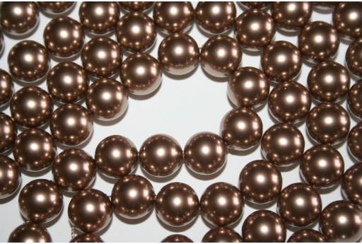 Perle Swarovski 5810 Crystal Bronze 12mm - 2pz