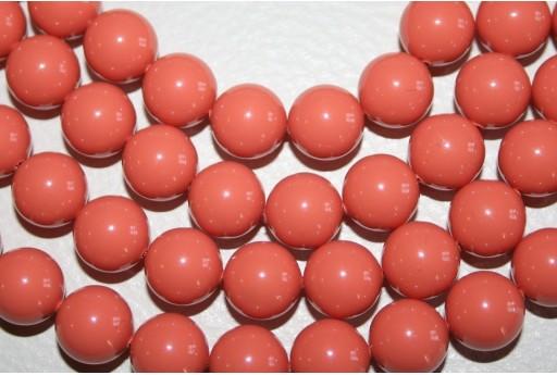 Perle Swarovski 5810 Crystal Coral 12mm - 2pz