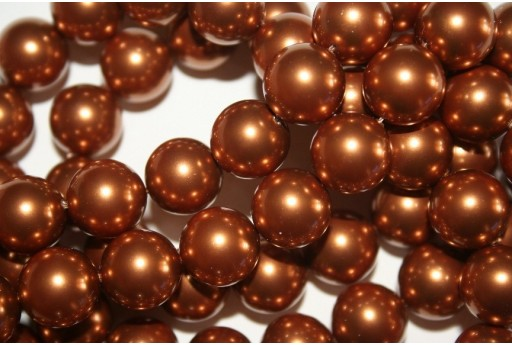 Perle Swarovski 5810 Crystal Copper 12mm - 2pz