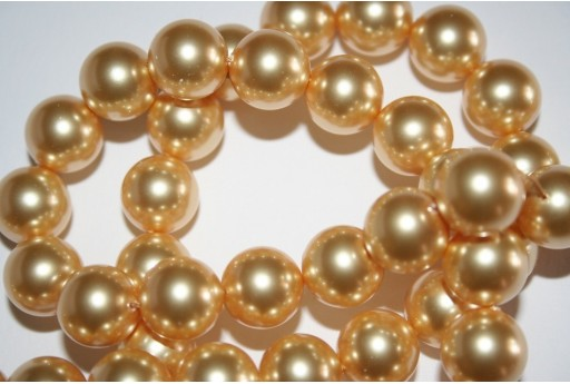 Perle Swarovski 5810 Crystal Gold 12mm - 2pz