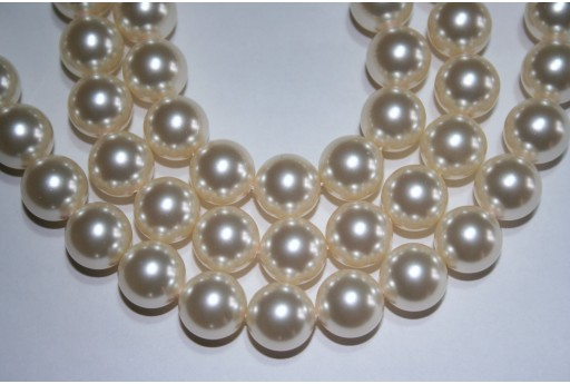 Perle Swarovski 5810 Crystal Cream 12mm - 2pz