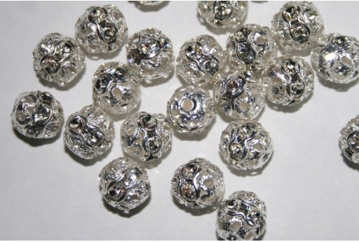 Swarovski Round Spacer Bead 47408 8mm - 2pcs