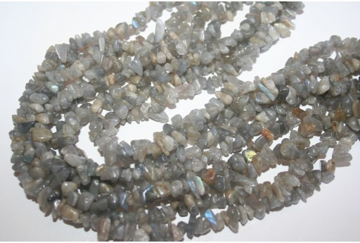 Labradorite Beads Chips 5x8mm - 220pz