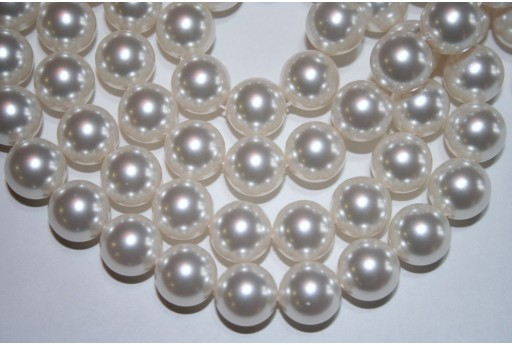 Perle Swarovski 5810 Crystal White 12mm - 2pz