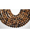 Tiger's Eye Round Beads 10mm - 4pcs