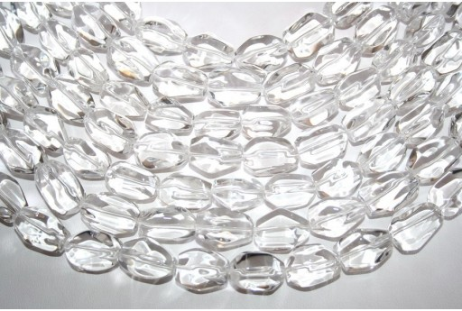 Crystal Beads Rock 13x18mm - 22pz