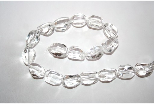 Crystal Beads Rock 13x18mm - 1pz