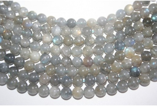 Labradorite Beads Sphere 8mm - 48pz
