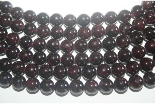 2 Pietre Granato Sfera 10mm GR1A