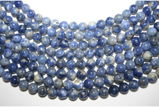 Sodalite Beads Sphere 8mm - 5pz