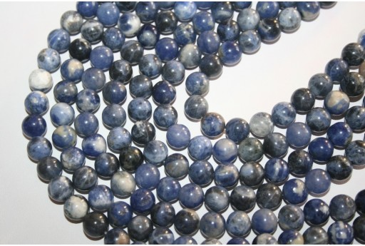 Sodalite Beads Sphere 10mm - 3pz