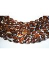 Pietre Agata Brown Oliva Twist 8x16mm - 2pz