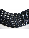 Blue Goldstone Oval Bead Strand 10x20mm 20pcs GS16