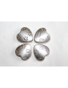 Cuori Argento Tibetano 13,5x13,5mm - 3pz
