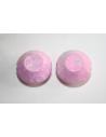 Perline Acrilico Rosa Doppio Cono 20x14mm - 10pz