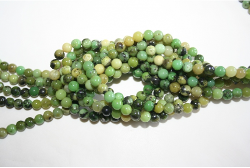 Chrysoprase Beads Sphere 5,5mm - 68pz