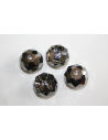 Swarovski Briolette 12mm Silver Night 504012MSINI