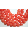 Mashan Jade Beads Orange Sphere 10mm - 38pz