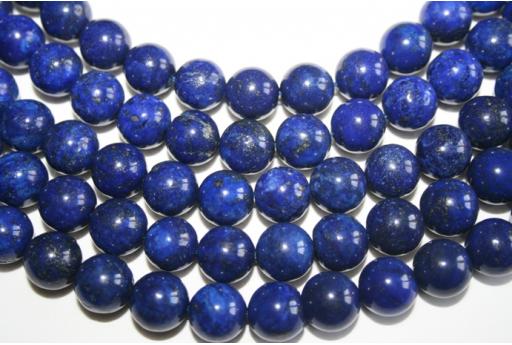 Filo 32 Pietre Lapis Lazuli Sfera 12mm LA11