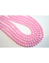 Perline Vetro Rosa 6mm - Filo 68pz