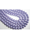 Glass Beads Lavender Sphere 10mm - Filo 44pz