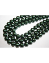 Glass Beads Dark Green Sphere 12mm - Filo 34pz