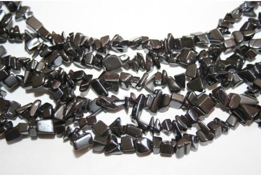 Hematite Beads Chips 5x8mm - 220pz