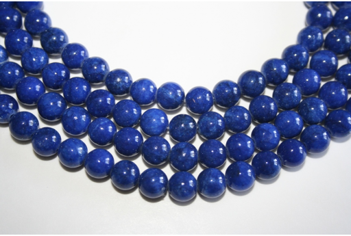 Mashan Jade Beads Blue Sphere 8mm - 48pz