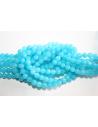 Mashan Jade Beads Aquamarine Sphere 6mm - 64pz